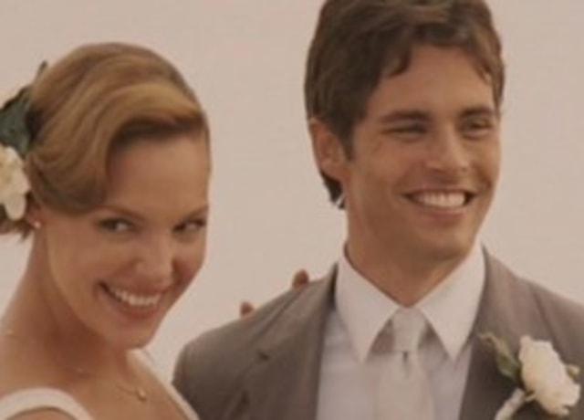 Jane e Kevin se casando.