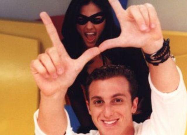 Luciano Huck e Tiazinha