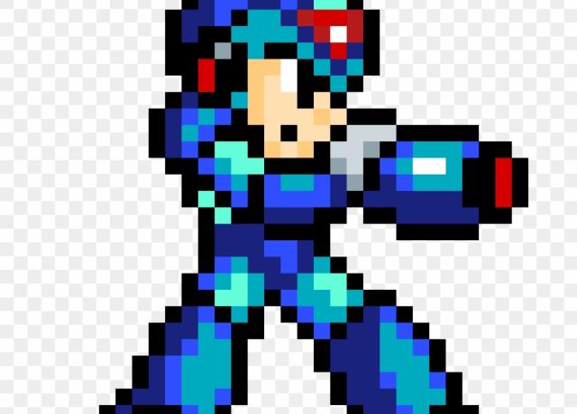 Megaman X, em 16 bits