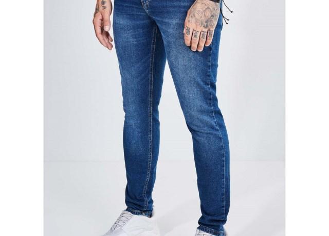 Calça skinny masculina
