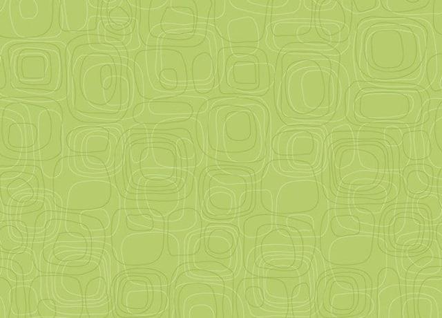 Papel de parede verde com círculos concêntricos