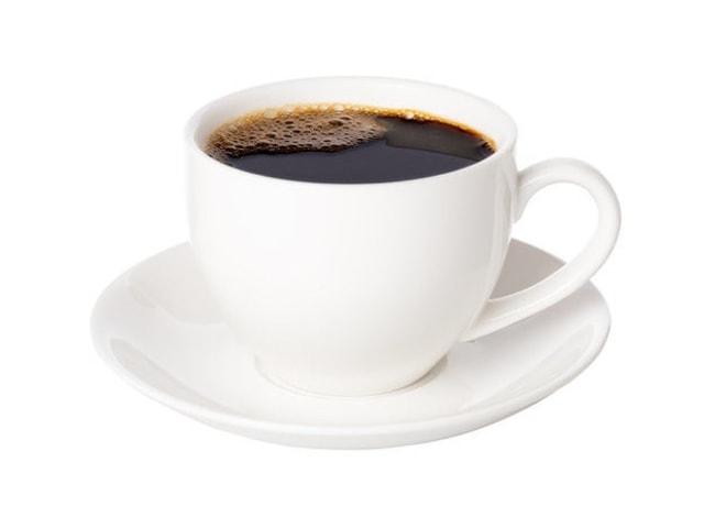 Foto de uma xícara de café.