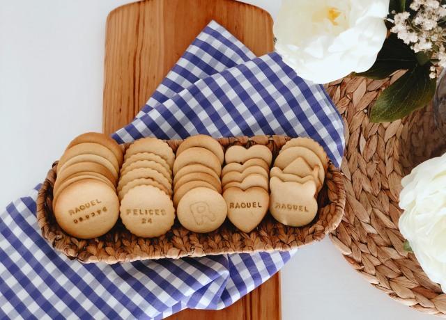 brown cookies on brown woven basket