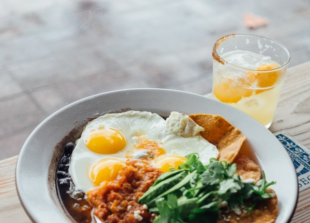 egg and vegetable dish on white ceramic plate