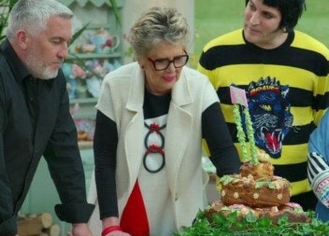 "Cena de ""The Great British Bake Off"""