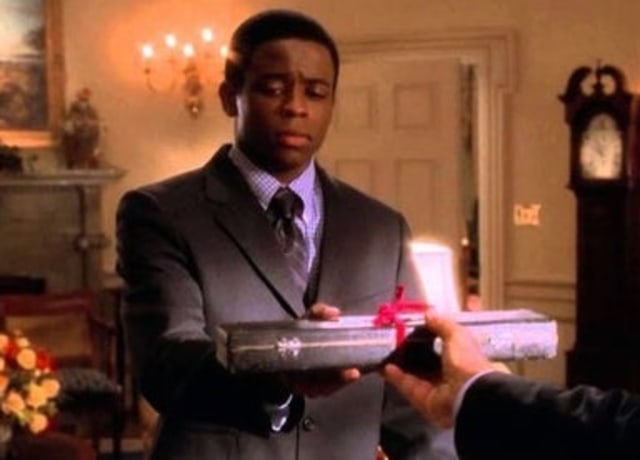 Dule as Charlie in The West Wing