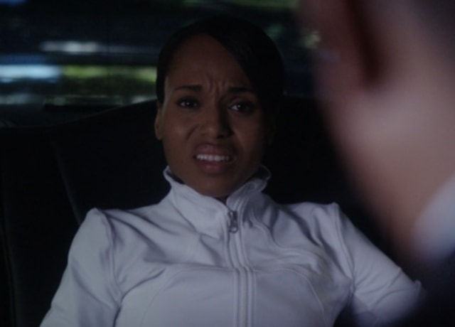 Kerry as Olivia seeing her dad for the first time