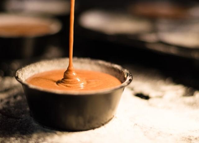 brown liquid in white ceramic cup