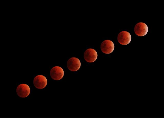 eight blood moon illustrations