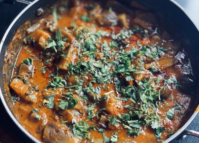 Indian Curry Top Shot
