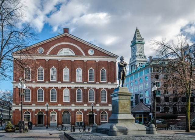 image of a building in boston, massachusetts