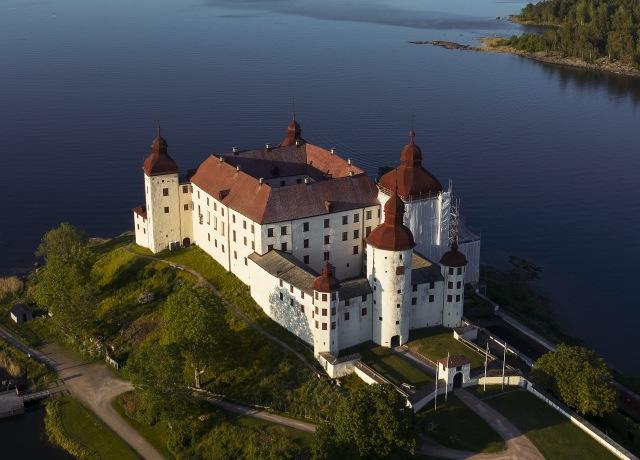 Läckö Castle in Sweden