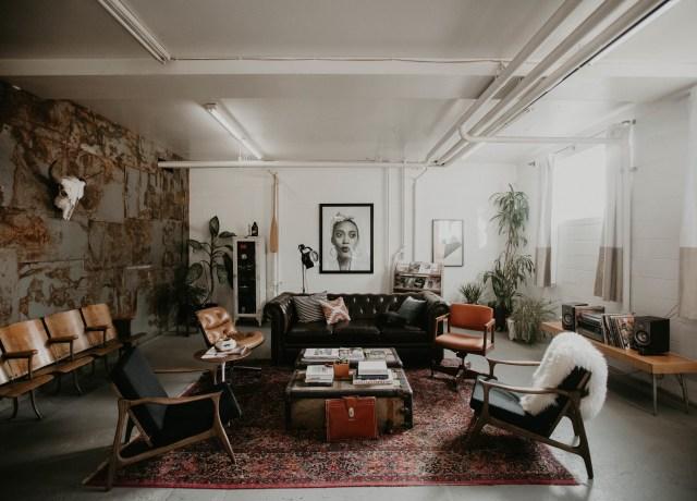 black and brown living room furniture set