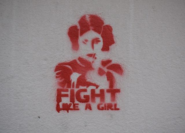 Star Wars Princess Lea paint