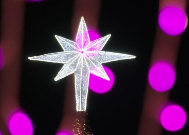 Estrela transparente