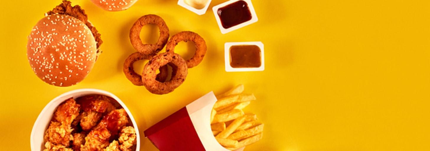 Quão chegado em fast food você é?
