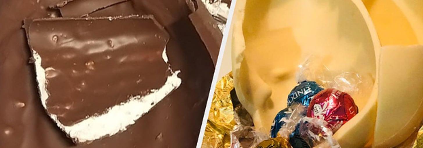 12 ovos de chocolate que experimentamos antes da Páscoa deste ano