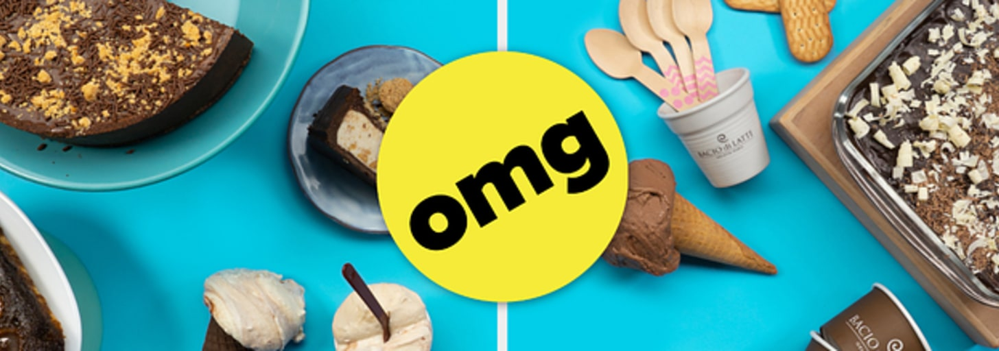 Qual sabor de gelato Bacio Di Latte + Tasty Demais você deve tomar hoje?