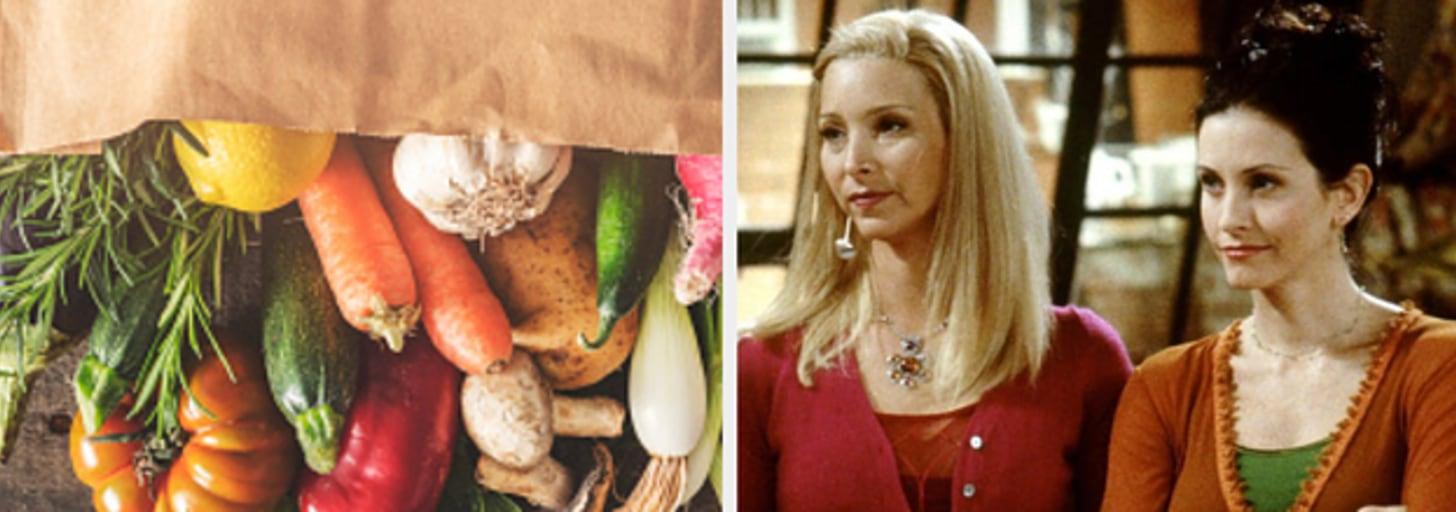 """Com base nas suas compras, qual personagem de """"Friends"""" você é?"""