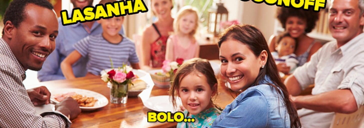 Esse quiz vai adivinhar qual prato não pode faltar no almoço especial da sua família