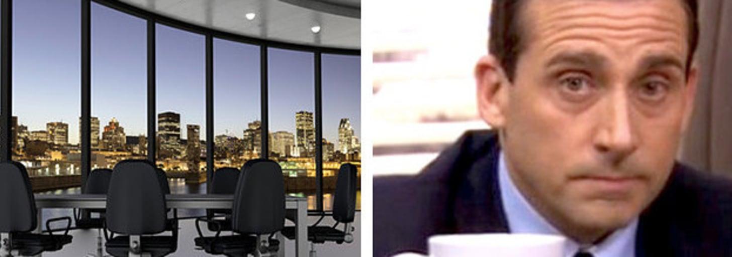 Monte o escritório dos seus sonhos e diremos quem você é na firma