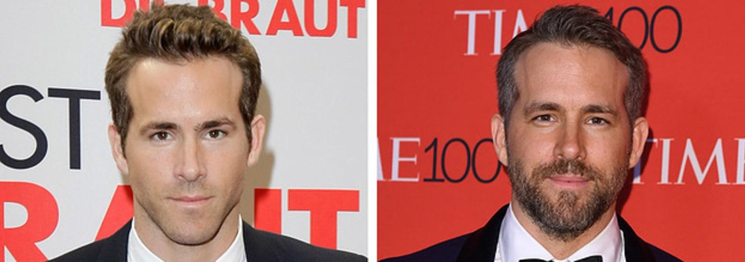 Estes famosos ficam mais lindos com ou sem barba?