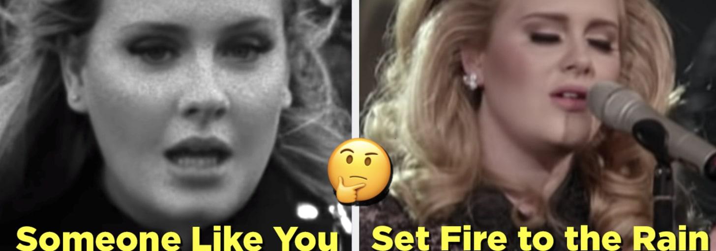 Sei que é difícil, mas você só pode salvar um destes hits da Adele