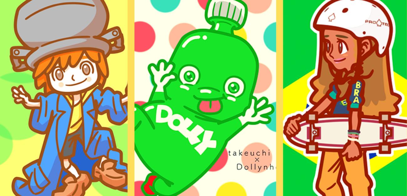 Ilustrador japonês apaixonado pelo Brasil está redesenhando personagens nacionais