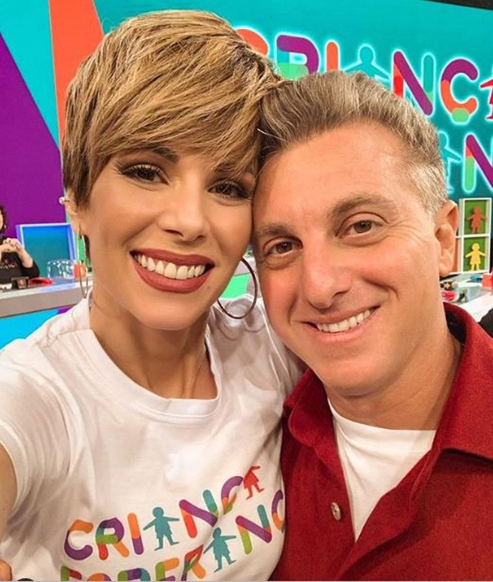 Luciano Huck e Ana Furtado