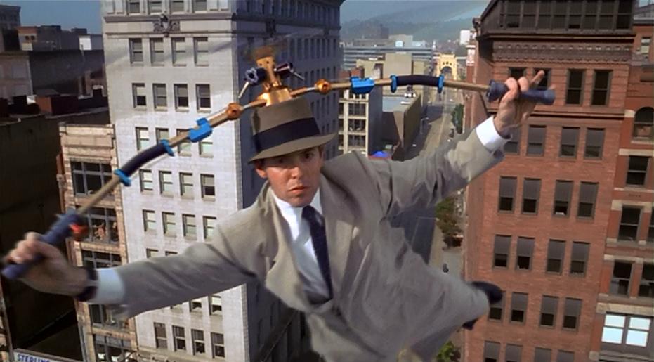 Cena do filme O Inspetor bugiganga