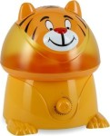 #8 rated for []: Crane Adorable Ultrasonic Cool Mist Humidifier with 2.1 Gallon Output per Day - Tiger