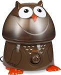 #1 rated for []: Crane Adorable Ultrasonic Cool Mist Humidifier with 2.1 Gallon Output per Day - Owl