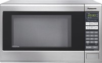 #4 rated in countertop: Panasonic Genius 1.2 Cu. Ft. Countertop/Built-In Microwave Oven, scored 96/100