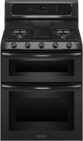 #3 rated in kitchenaid: KitchenAid Freestanding Gas Double-Oven Convection Range, scored 78/100