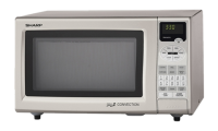 #5 rated in 900 watt: Sharp 0.9 Cu.Ft. Convection Microwave Oven, scored 85/100