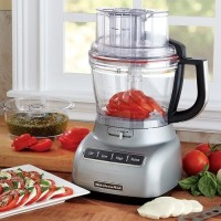 #4 rated in large: KitchenAid 13-Cup Food Processor  (KFP1333CU), scored 87/100