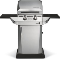 #4 rated in quick cooking: Char-Broil TRU Infrared Urban Gas Grill with Folding Side Shelves, scored 86/100