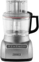 #5 rated in 9-cup: KitchenAid ExactSlice System 9-Cup Food Processor with 3-Cup Mini Bowl (KFP0922CU), scored 79/100