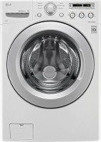 #5 rated in time efficient: LG 4.0 Cu. Ft. 7-Cycle High-Efficiency Front-Loading Washer, scored 85/100