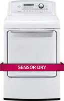 #4 rated in high quality: LG 7.3 cu. ft. Electric Dryer, scored 85/100