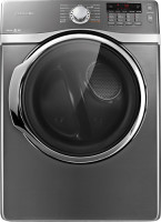 #4 rated in high performance: Samsung 7.4 Cu. Ft. 13-Cycle Steam Gas Dryer, scored 91/100