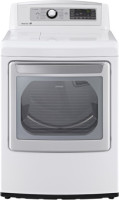#5 rated in high end: LG 7.3 cu. ft. Electric Dryer with Steam, scored 83/100