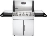 #3 rated in high performance: Napoleon M485RSIBPSS-1 Mirage Propane Gas Grill with Infrared Rear and Side Burner, scored 96/100