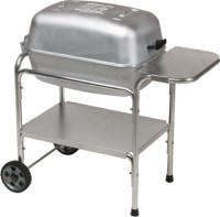 #3 rated in durable: Portable Kitchen PK 99740 Cast Aluminum Grill and Smoker, scored 97/100