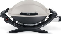 #5 rated in easy to clean: Weber 386002 Q100 Portable 189-Square-Inch 8500-BTU Liquid-Propane Gas Grill, scored 91/100
