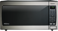 #5 rated in 1250 watt: Panasonic Genius 1.6 Cu. Ft. Countertop/Built-In Microwave Oven, scored 85/100