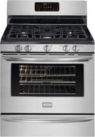 #2 rated in 5 burner gas: Frigidaire Gallery Freestanding Gas Convection Range, scored 85/100