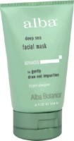 #4 rated in under $10: Alba Botanica Deep Sea Facial Mask for Unisex, 4 oz, scored 81/100