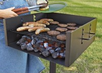#1 rated in durable: XL Guide Gear Heavy-Duty Park-Style Grill, scored 98/100