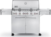 #5 rated in high end: Weber Summit S-670 Stainless Steel Gas Grill, scored 95/100